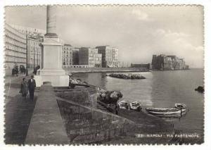 RP  Napoli (Italy). 30-40s Via Partenope