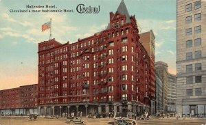 LP21   Cleveland Ohio Hotel Hollenden  Postcard
