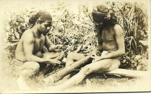 philippines, Native Bamboo Musicians (1910s) RPPC Postcard