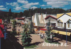 Street Scene Kimberley British Columbia Canada