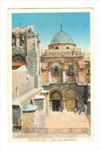 The Holy Sepulchre, Jerusalem, Israel, Asia, 1900-1910s