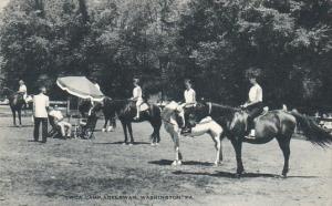 Horseback Riding Y W C A Camp Adelawan Washington Pennsylvania Artvue