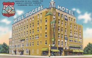 Oklahoma Claremore Will Rogers Hotel