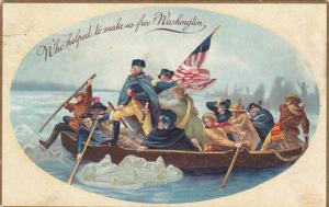 George Washington Crossing The Delaware 1909