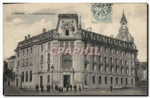 Old Postcard Limoges New Prefecture