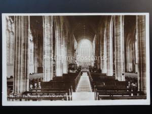 Somerset: YEOVIL St. John's Church, The Nave c1929 RP Postcard