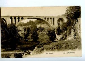 172941 Luxembourg Pont Adolphe Vintage postcard