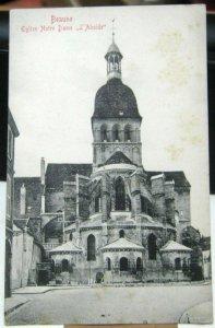 France Beaune Eglise Notre Dame L'Abside - unposted