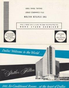 DALLAS , Texas, 1940-60s; The Statler Hilton Hotel ; Bi-Fold PC