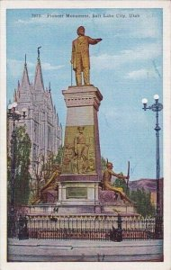 Pioneer Monument Salt Lake City Utah