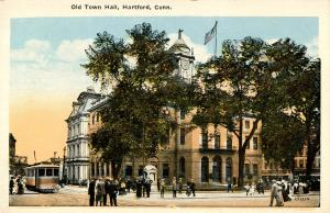 CT - Hartford. Old Town Hall