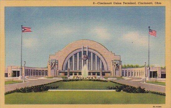 Cincinnati Union Terminal Cincinnati Ohio