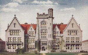 CHICAGO, Illinois, 1900-10s; Ryerson Physical Laboratory, University of Chicago