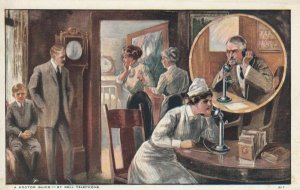 A Doctor Quick - BELL TELEPHONE , 1900-10s; Nurse phones Doctor