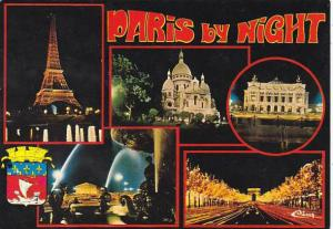 France Paris By Night Multi View
