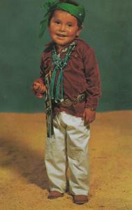 NAVAJO Indian Boy , 50-60s