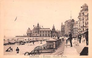 Ostende Belgium, Belgique, Belgie, Belgien Kursaal Grands Hotel Ostende Kursa...