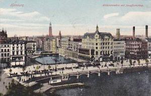 Alsterarcaden Mit Jungfernstieg, Hamburg, Germany, 1900-1910s