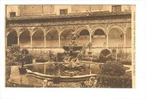 Certosa di Pavia, Italy, 00-10s   La Fontana del piccolo Chiostro