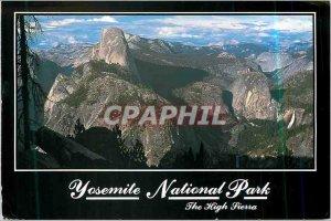 Modern Postcard Yosemite National Park the High Sierra California