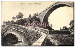 Old Postcard Pierre-Perthuis Surroundings d & # 39Avallon