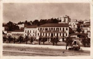CPA Tanger Avenue d'Espagne, Hotel Cecil MAROC (689170)