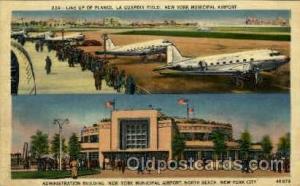 Administration Building, New York Municipal Airport, New York City,NY USA Air...