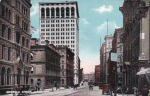Michigan Detroit Griswold Street 1909