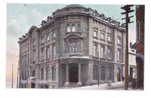 Canada Quebec Post Office c 1910 Vintage Postcard