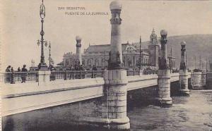 Puente De La Zurriola, San Sebastian, Spain, 1900-1910s
