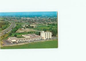 Vintage Postcard Aerial Holiday Inn Lake Ontario Oshawa Ontario Canada  # 3037