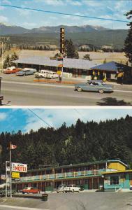 Motels , RADIUM HOT SPRINGS , B.C. , Canada , 50-60s