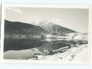 old rppc NICE VIEW Davos - Prattigau-Davos - Graubunden Switzerland i1775