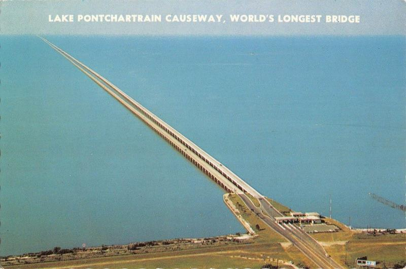 B Lake Pontchartrain Causeway World S Longest Bridge Usa - Longest bridge in the usa