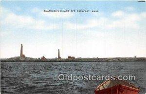 Thatcher's Island Rockport, Mass, USA Unused