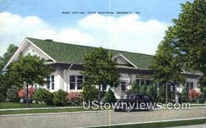 Post Office Fort Benning GA Unused