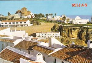 Spain Malaga Mijas Partial View