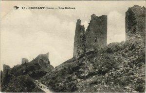 CPA CROZANT Les Ruines (1143607)