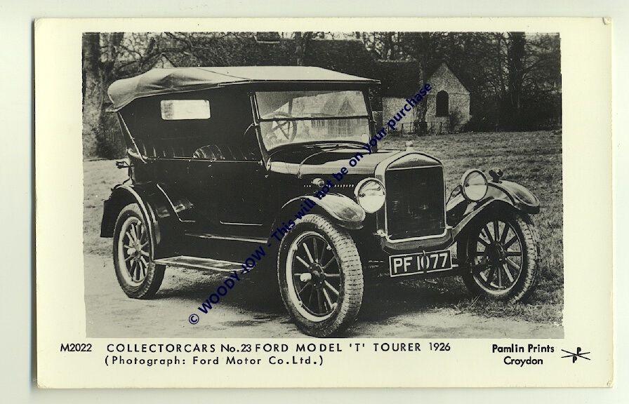 Tm566 Ford Model T Tourer Motor Car C1926 Pamlin