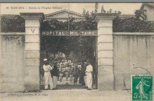 Africa - Madagascar Mascara Entree de l'Hôpital Militaire 04.45