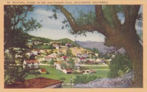Beautiful Homes in Hollywood Hills, Hollywood, California, 1930-40s