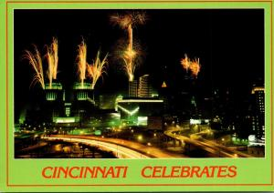 Ohio Cincinnati Bicentennial With Fireworks
