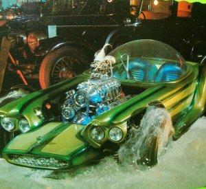 Hot Rod Postcard Beatnik Bandit Race Car Ed Big Daddy Roth Rat Fink Hot Wheels