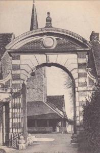 Cheverny , Loir-et-Cher département , , 00-10s Le Portail et l'Eglise