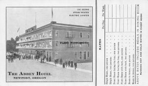 NEWPORT, OREGON THE ABBEY HOTEL