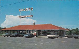 TEXACO Restaurant Le Lys, Ste. Eulalie, Cte. Nicolet, Quebec, Canada, 40-60s