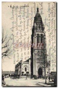 Postcard Old Bordeaux Eglise Ste Marie