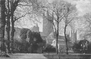Canterbury Cathedral, N.E. Sepiatone