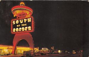 South of the Border SC~Street Scene @ Night~Neon Lights~Motel~Classic Cars/Van