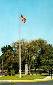 Massachusetts Fitchburg Common and World War I Memorial